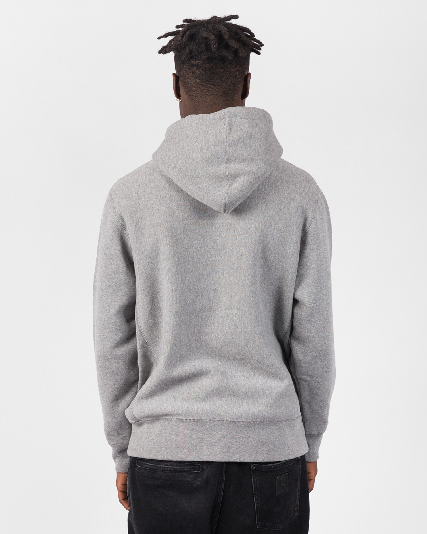 Fucking Awesome Actual Visual Guidance Hoodie Grey Heather