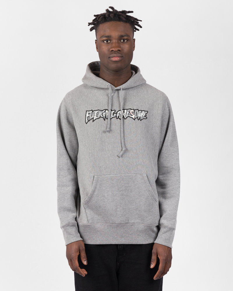 Fucking Awesome Fucking Awesome Actual Visual Guidance Hoodie Grey Heather
