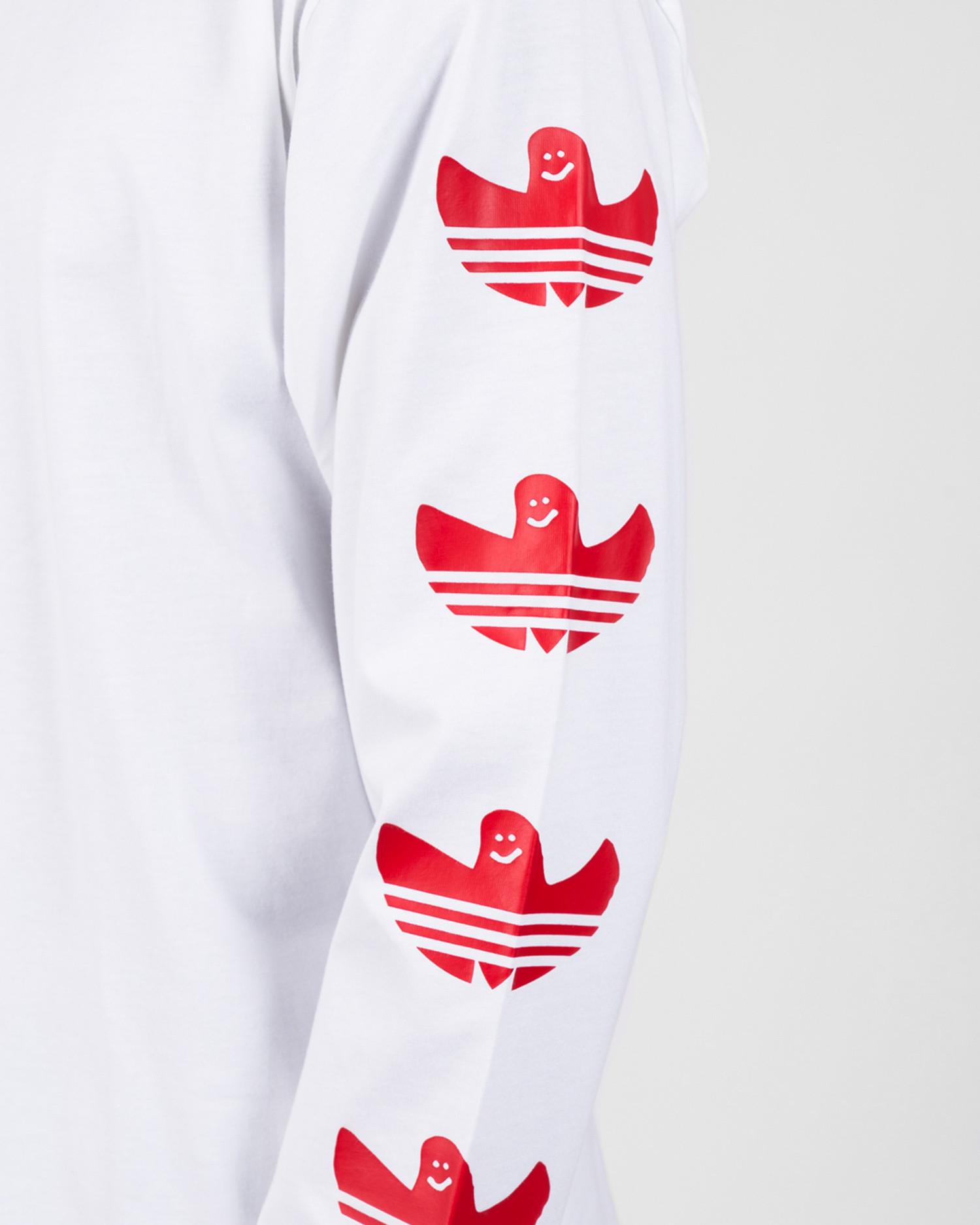 Adidas Longsleeve G Shmoo Tee White