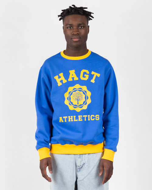 HAVE A GOOD TIME Have A Good Time Athletics 2 Tone Crewneck Navy