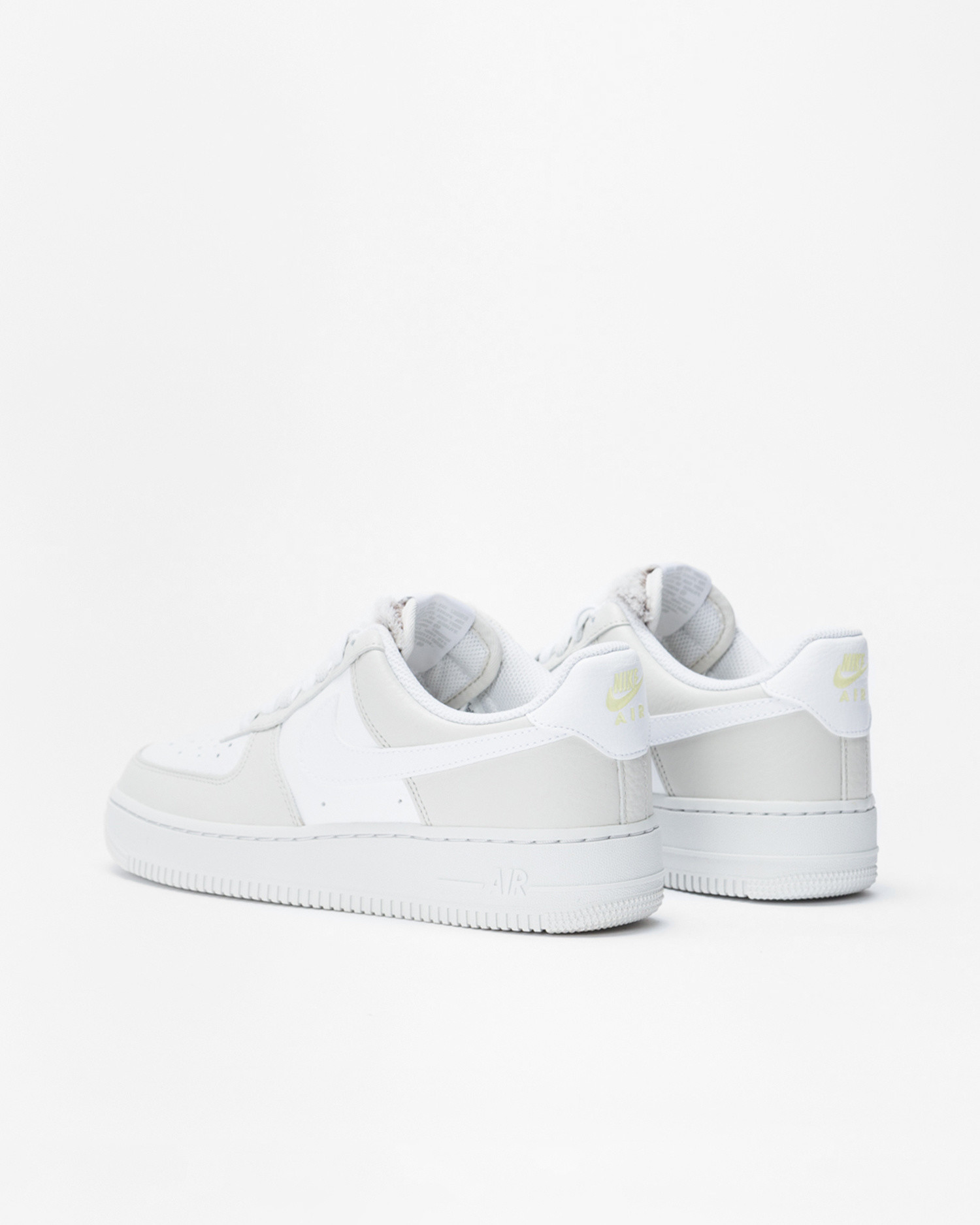 Nike Wmns Air Force 1'07 Light bone/white-photon dust-life lime