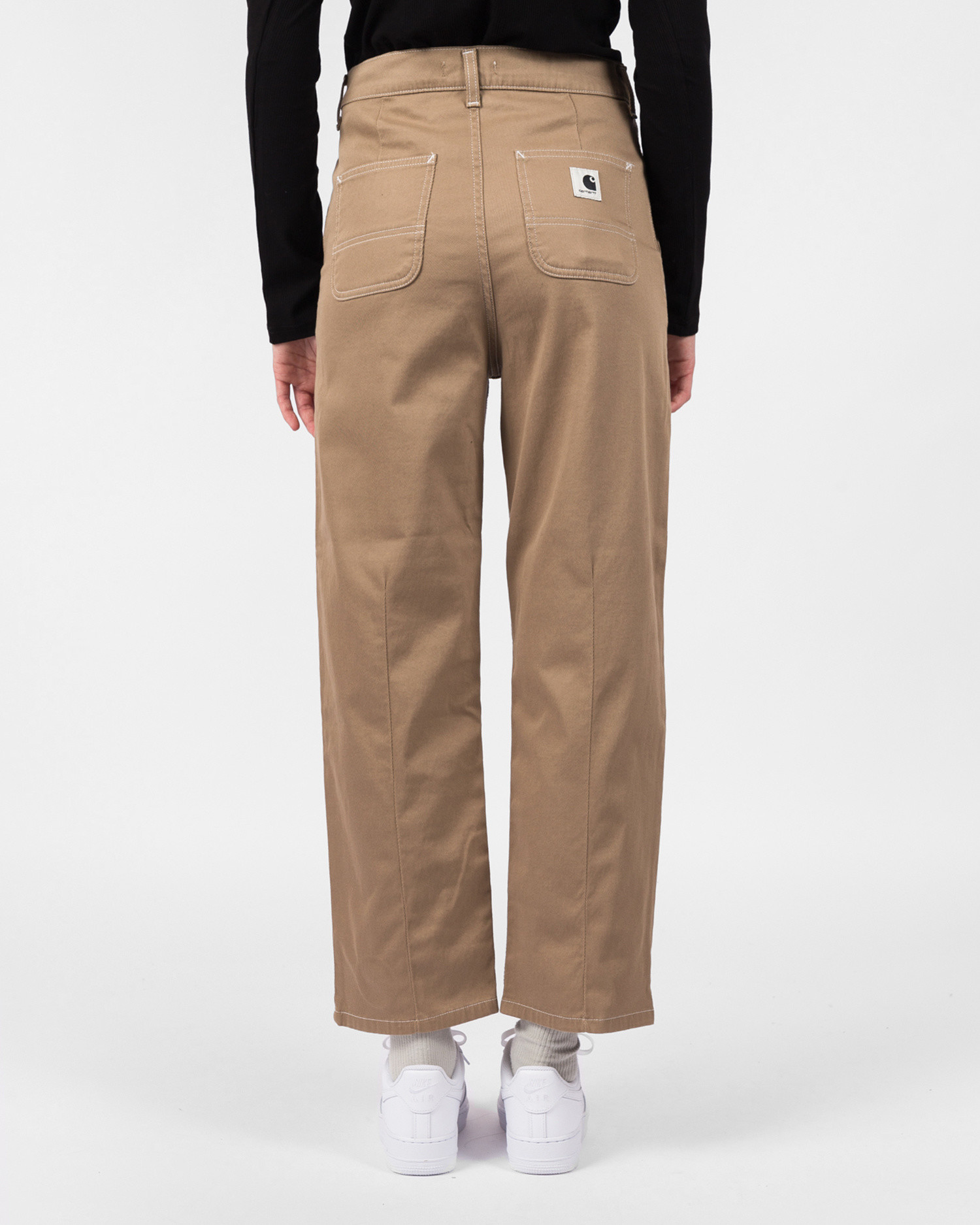 Carhartt W Armanda Pant Leather Rinsed No length
