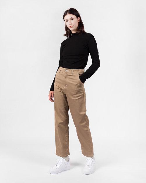 Carhartt Carhartt W Armanda Pant Leather Rinsed No length