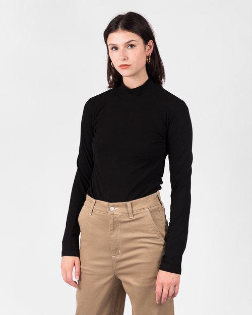 Carhartt Carhartt W' Longsleeve Seri T-shirt Elastance Black