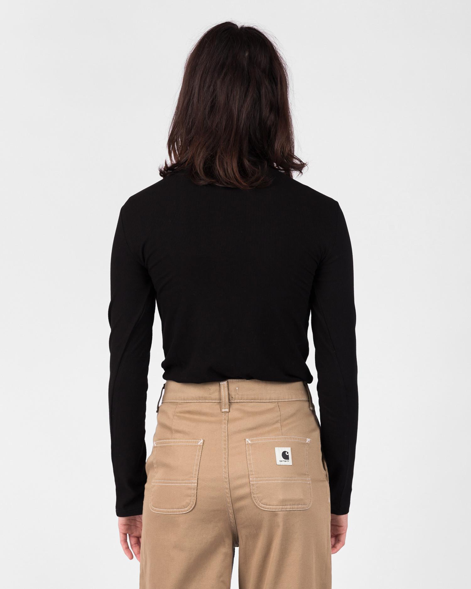 Carhartt W' Longsleeve Seri T-shirt Elastance Black