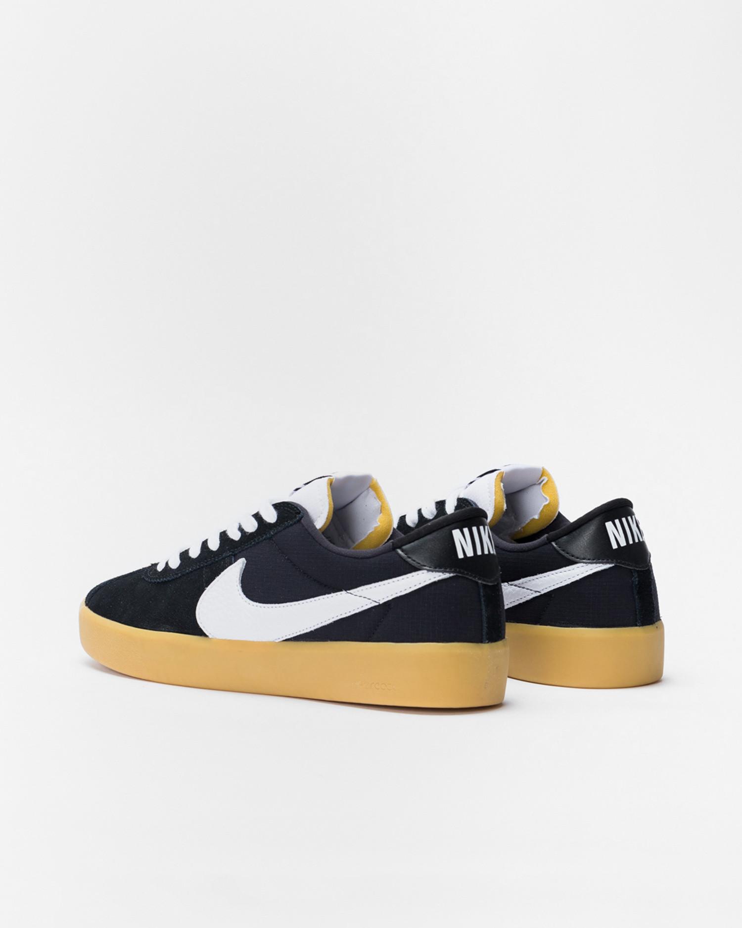 Nike Sb Bruin React Black/white-black-gum light brown
