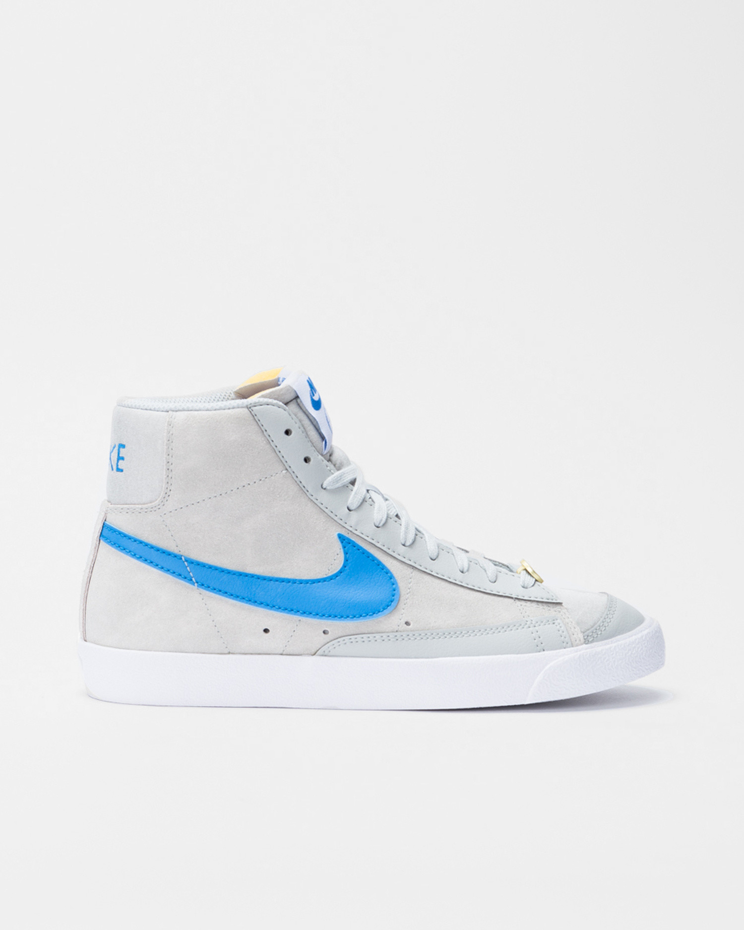 Nike Blazer mid '77 nrg emb Grey fog/lt photo blue-white