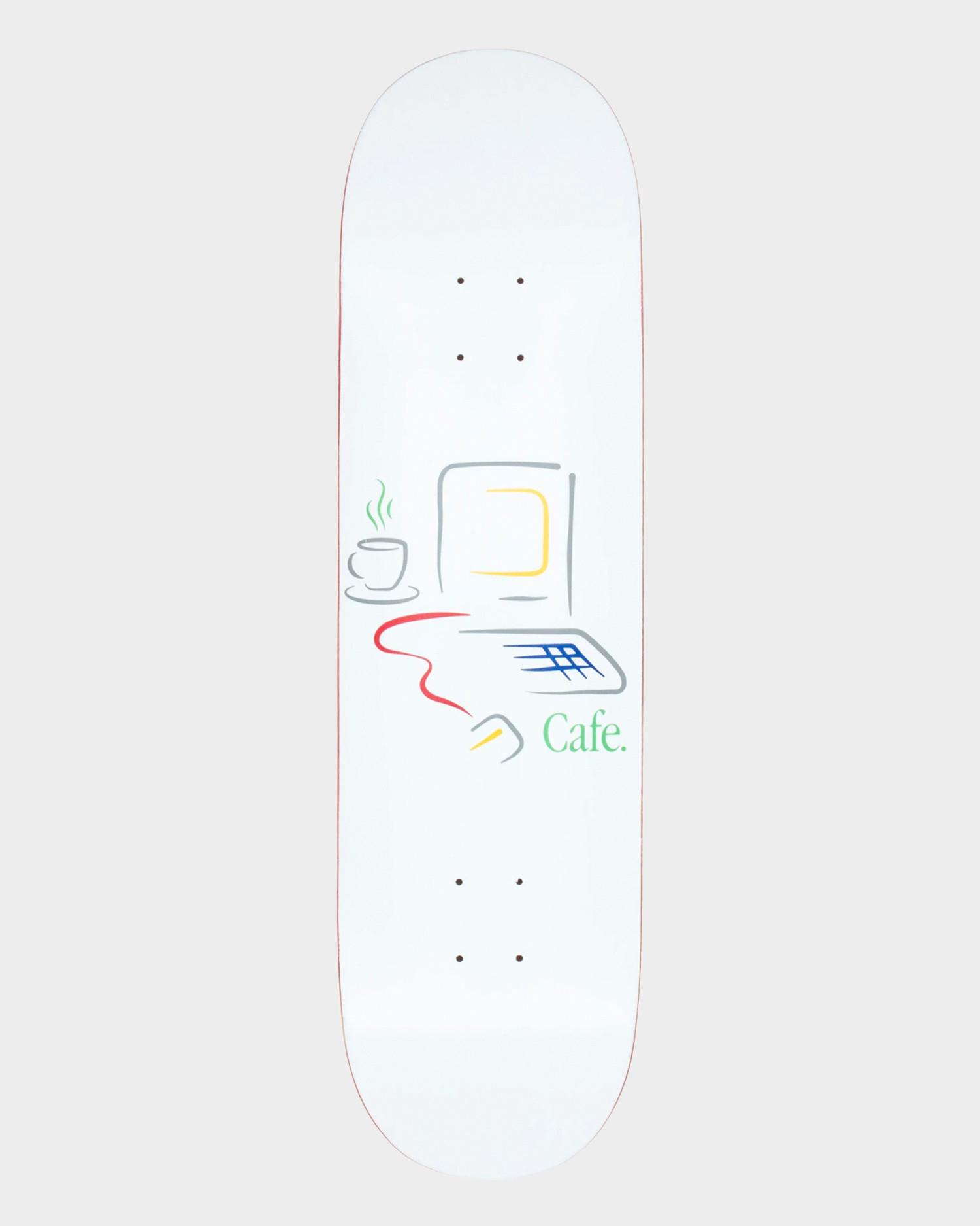 Skateboard Cafe Gerald Deck White 8.0