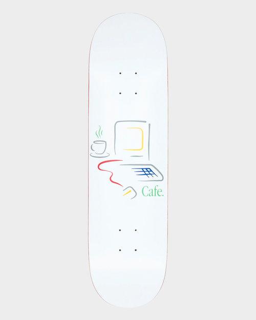 Skateboard Cafe Skateboard Cafe Gerald Deck White 8.0