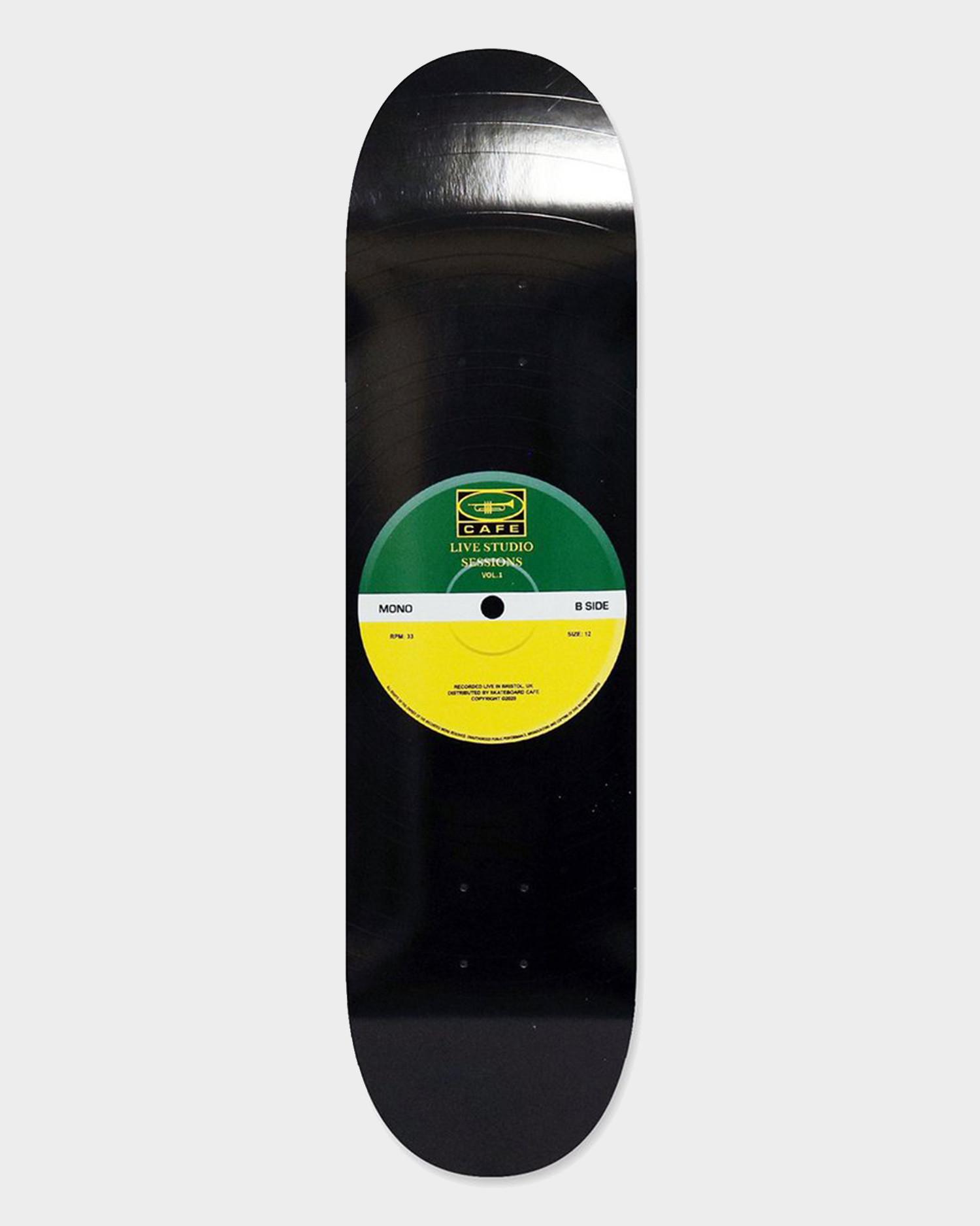 Skateboard Cafe 45 deck Green/Yellow 8.385