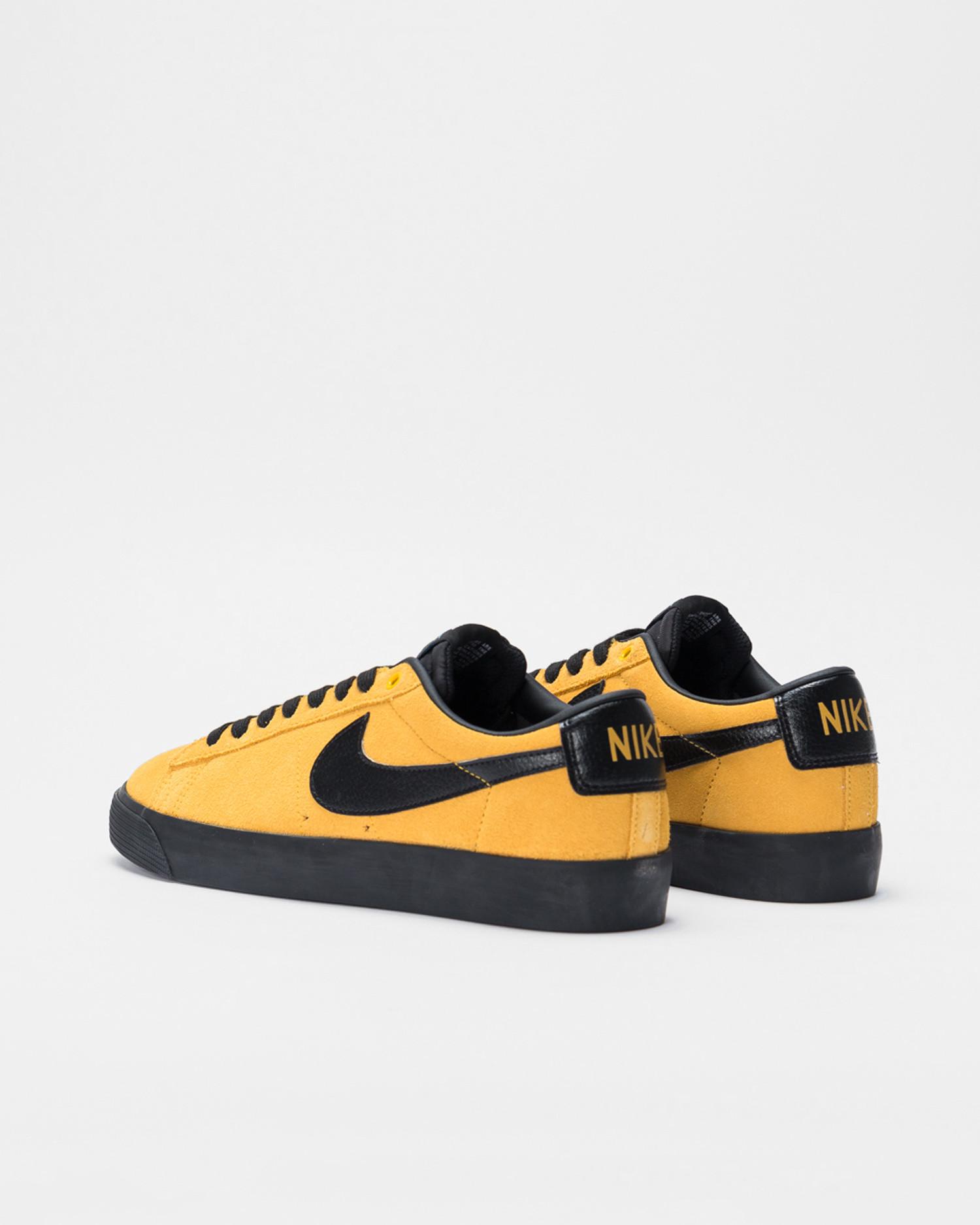 Nike SB Blazer Low Gt University gold/black-university gold