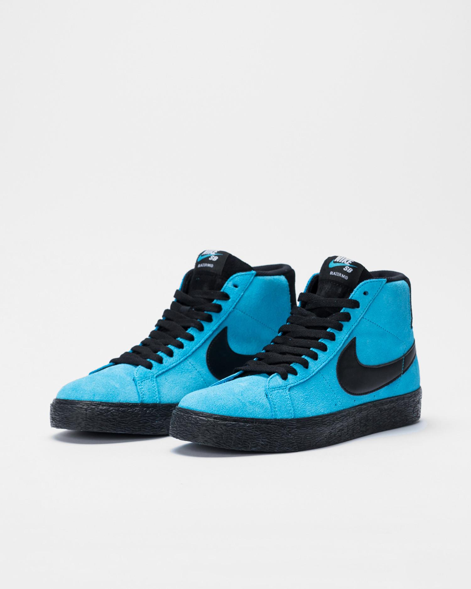 Nike SB Blazer Mid Baltic blue/black-baltic blue-white