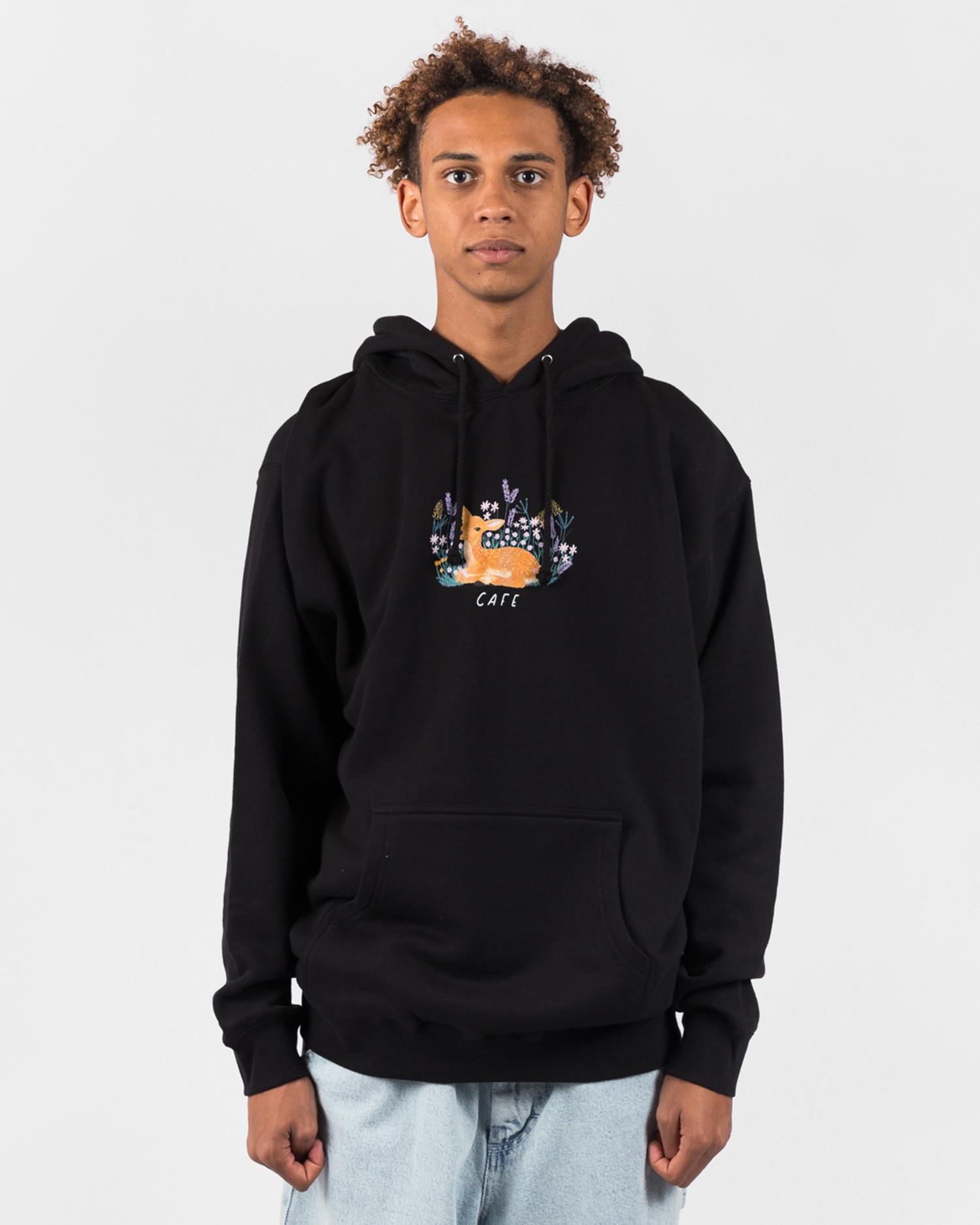 Skateboard Cafe Doe Hood Black