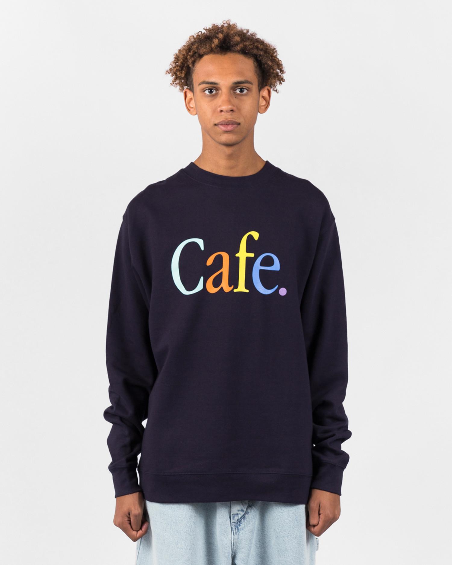 Skateboard Cafe Wayne Crew Navy