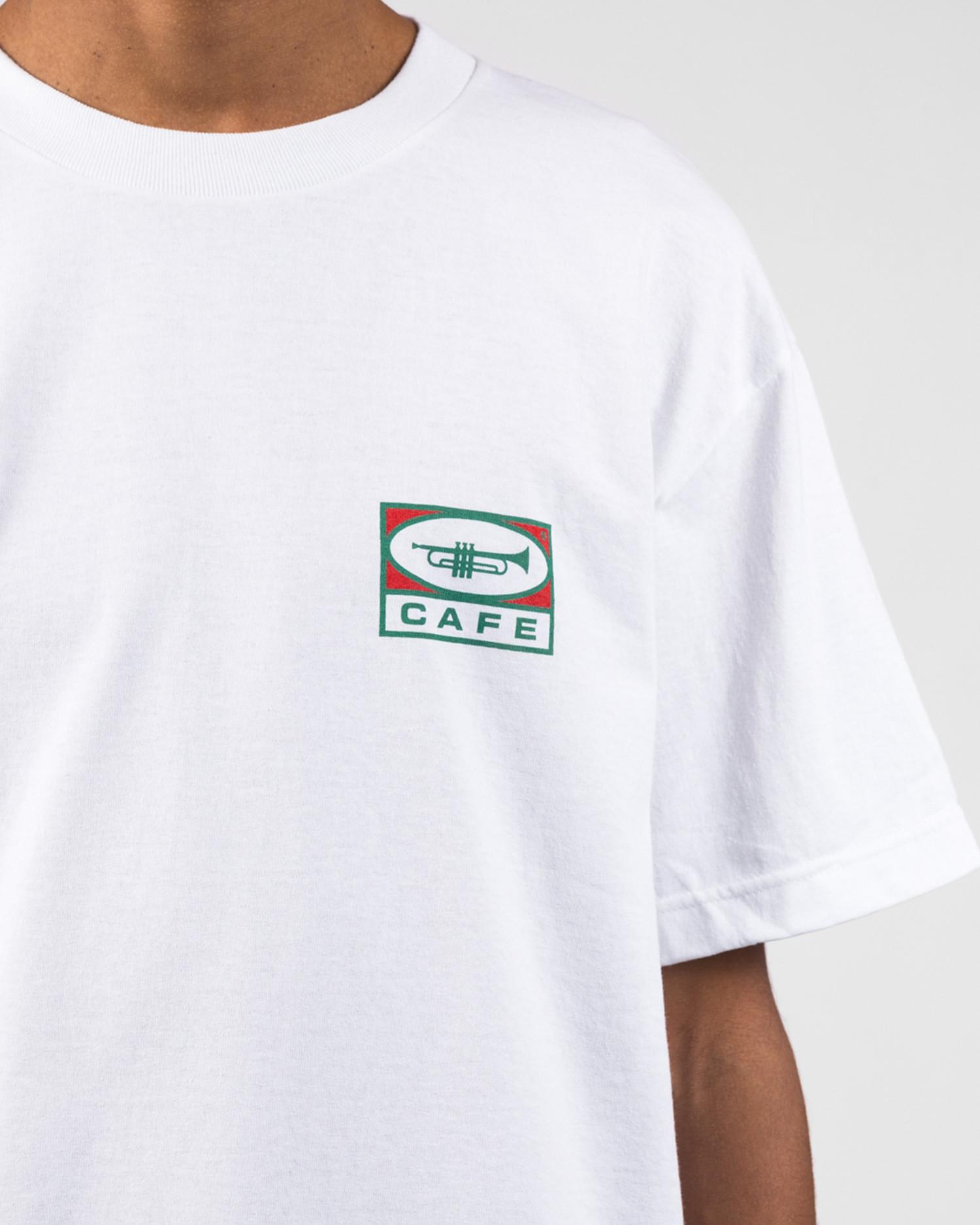 Skateboard Cafe 45 Tee White