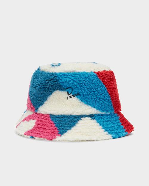 Parra Parra Sherpa Fleece Bucket Hat Multicolor