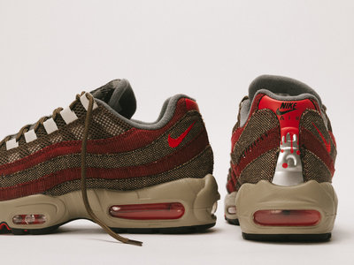 "01.11.2020 - Nike Air Max 95 Halloween ""Freddy Krueger"""