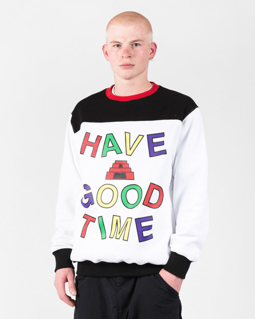 HAVE A GOOD TIME Have A Good Time Energy Side Pocket Crewneck