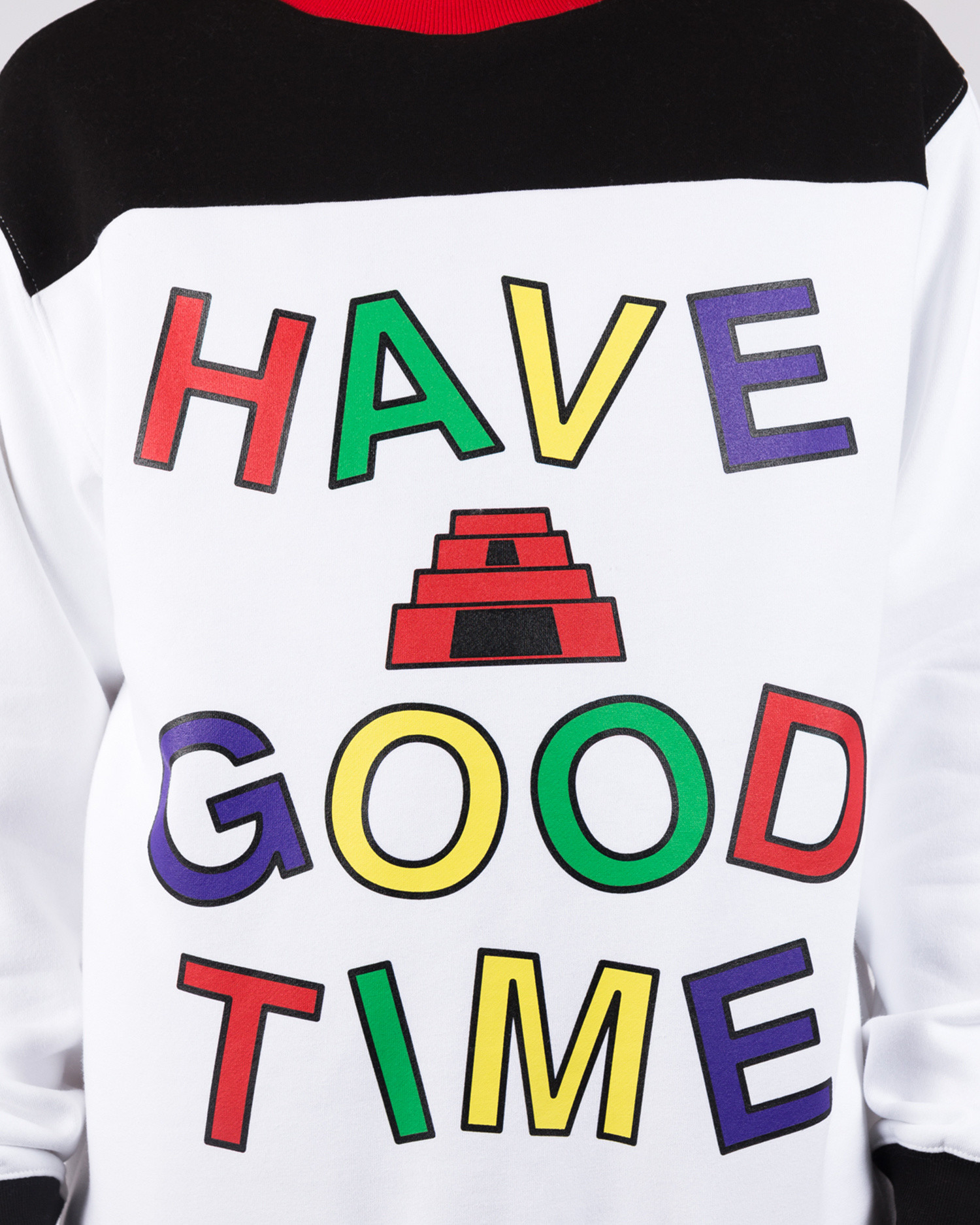 Have A Good Time Energy Side Pocket Crewneck