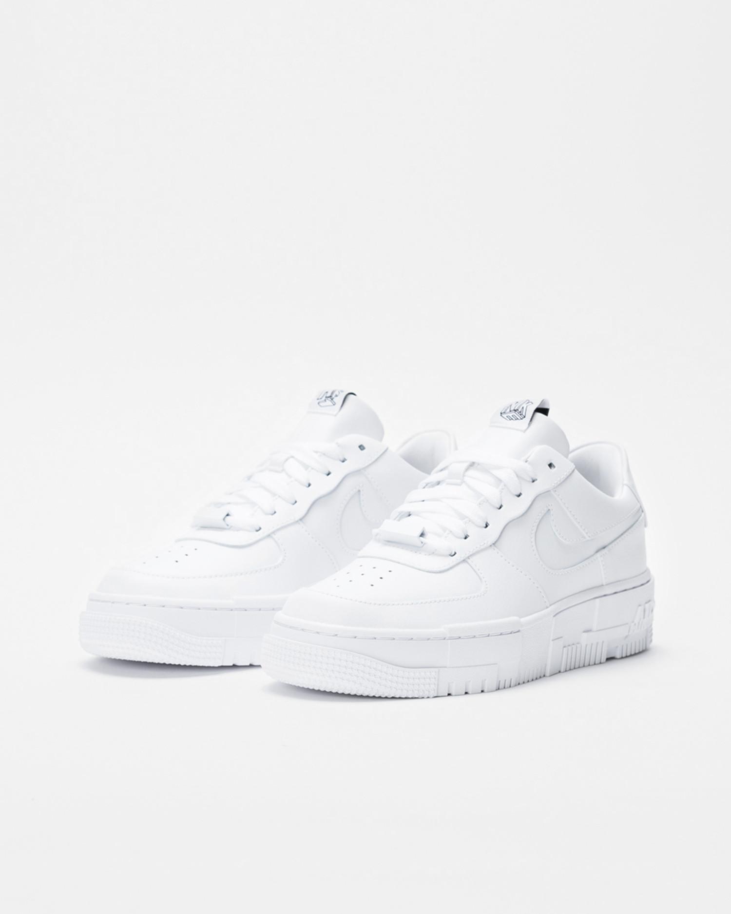 Nike Wmns af1 pixel White/White-Black-Sail