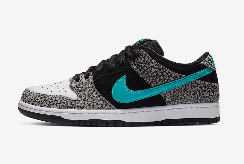 "11.11.2020 - Nike SB Atmos Dunk Low Pro ""Elephant"""