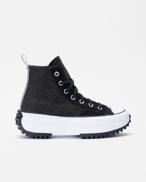 Converse Converse Run Star Hike Hi black/silver/white