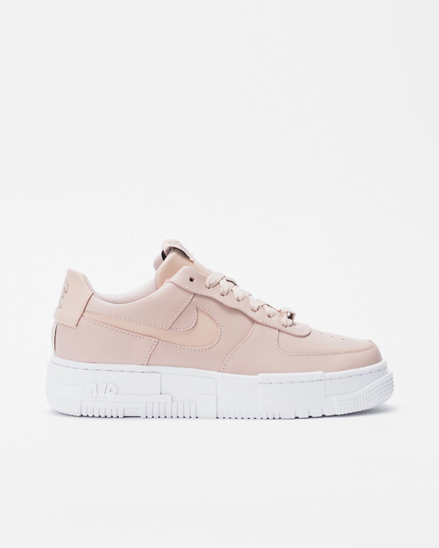 Nike Wmns af1 pixel Particle beige/particle beige-black