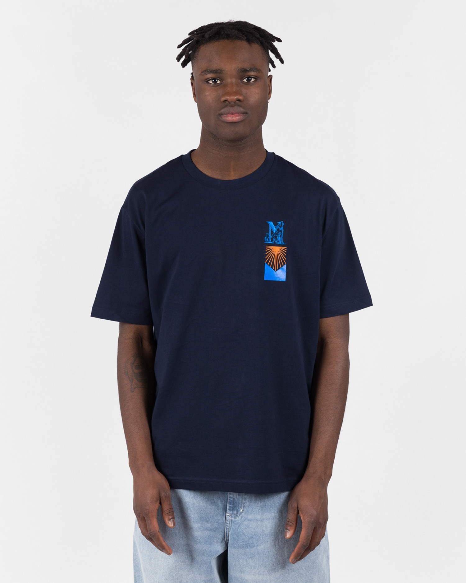 NO US Harran T-Shirt Navy Blue