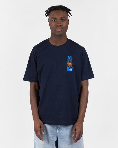 NO US NO US Harran T-Shirt Navy Blue