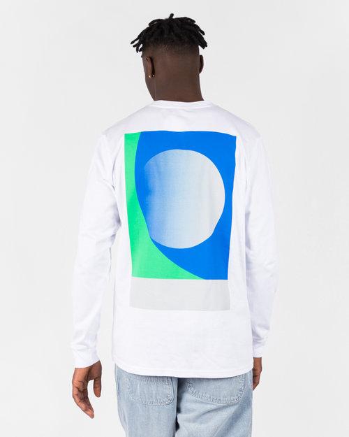 NO US NO US Wall Longsleeve T-Shirt White