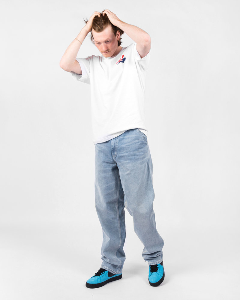 Carhartt Carhartt Simple Pant Blue Light Used Wash