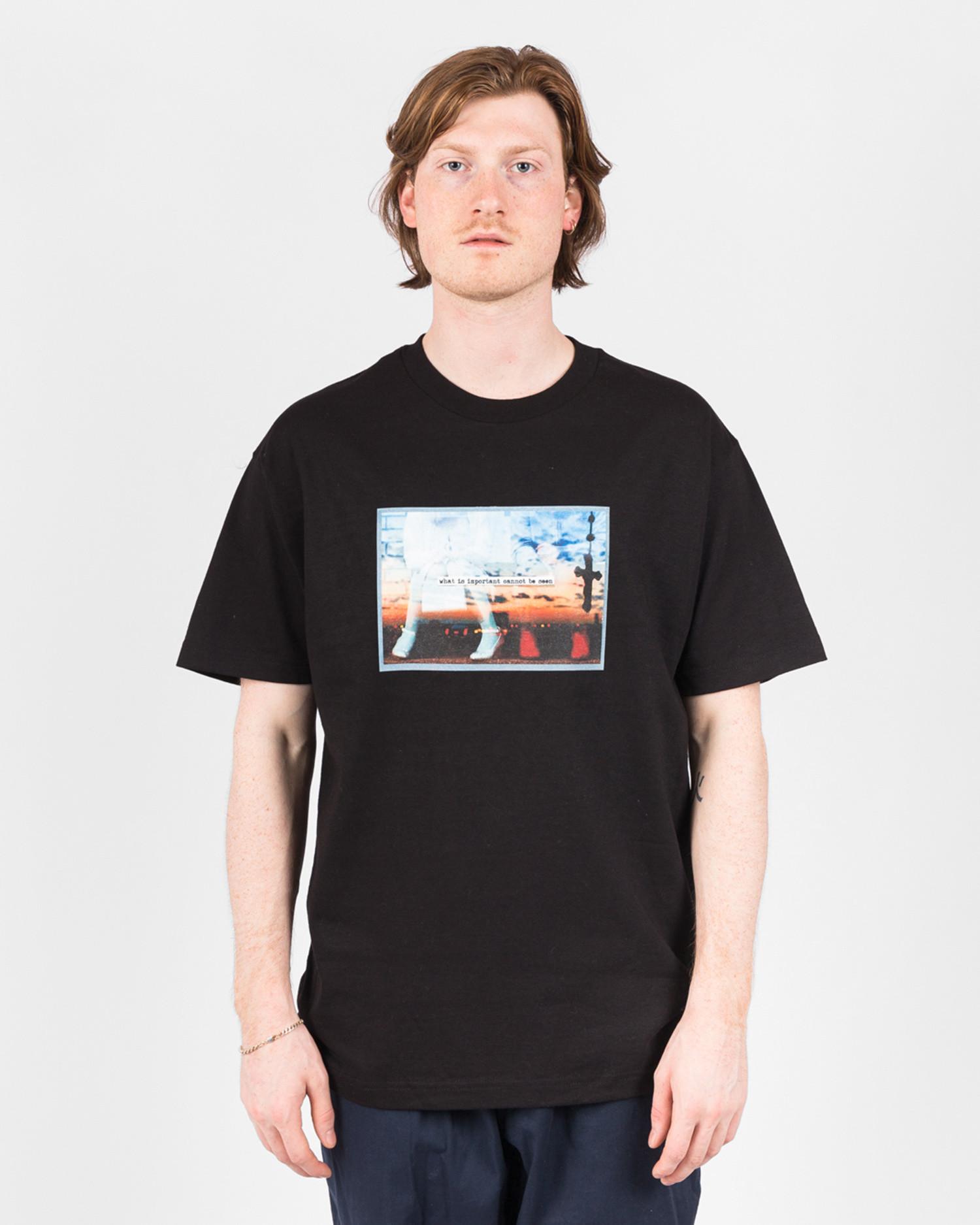 Poets Better Half Shortsleeve T-Shirt Black