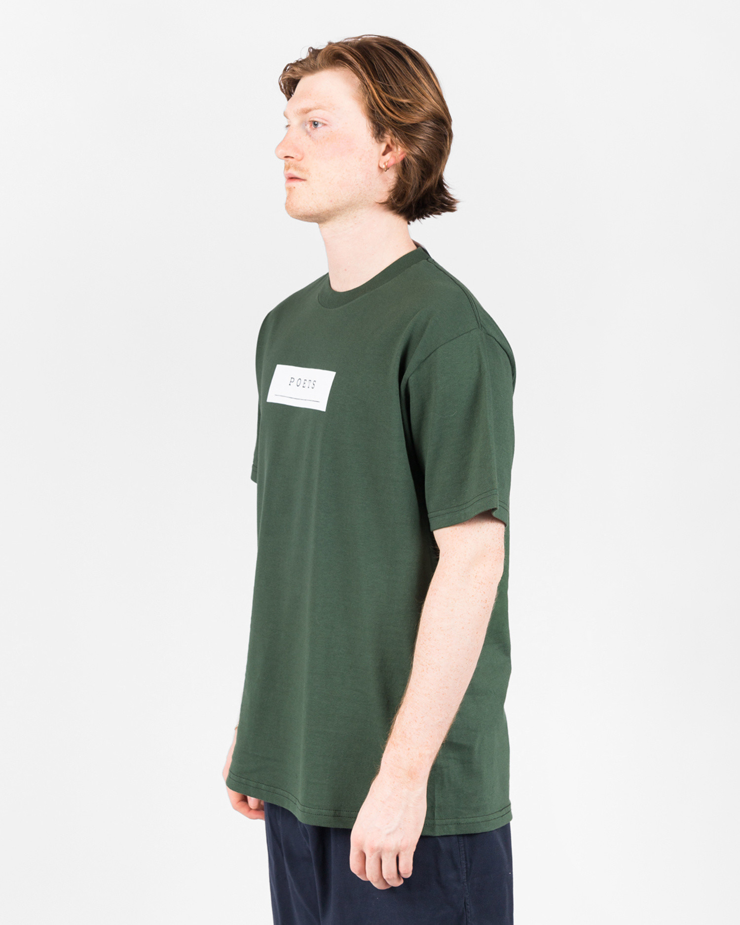 Poets Frank Morris Short Sleeve T-Shirt Green