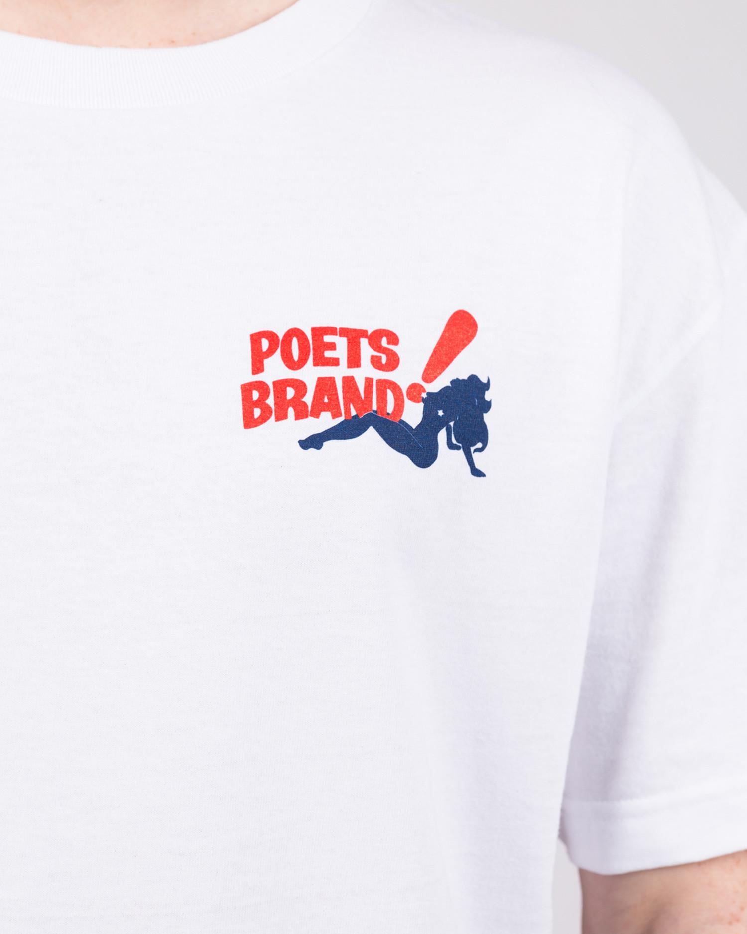 Poet Bing! Shortsleeve T-Shirt White