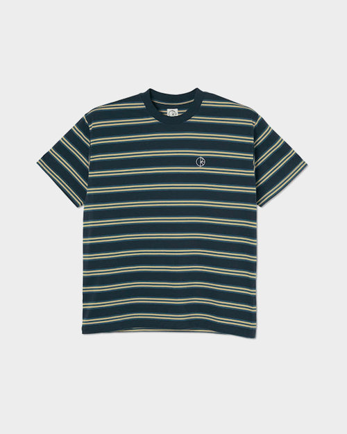 Polar Polar Stripe Tee Navy