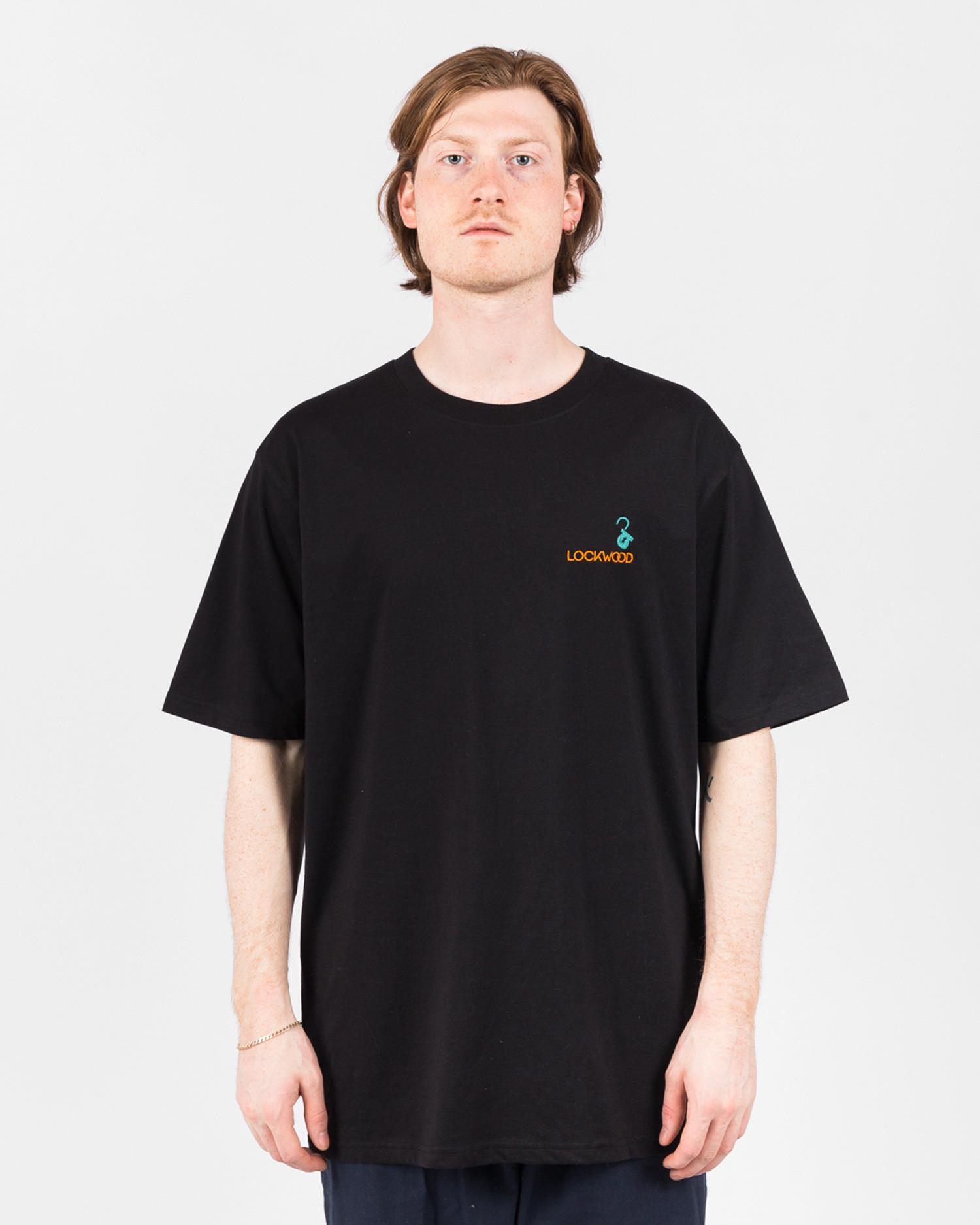 Lockwood Embroidery T-shirt Black