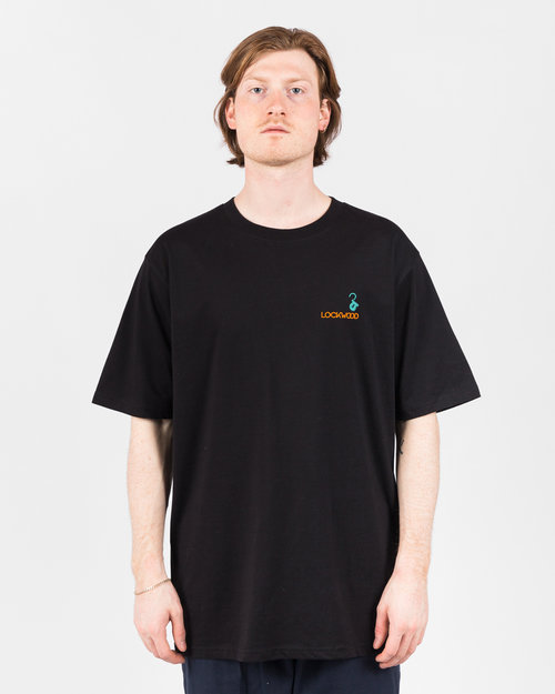 Lockwood Lockwood Embroidery T-shirt Black