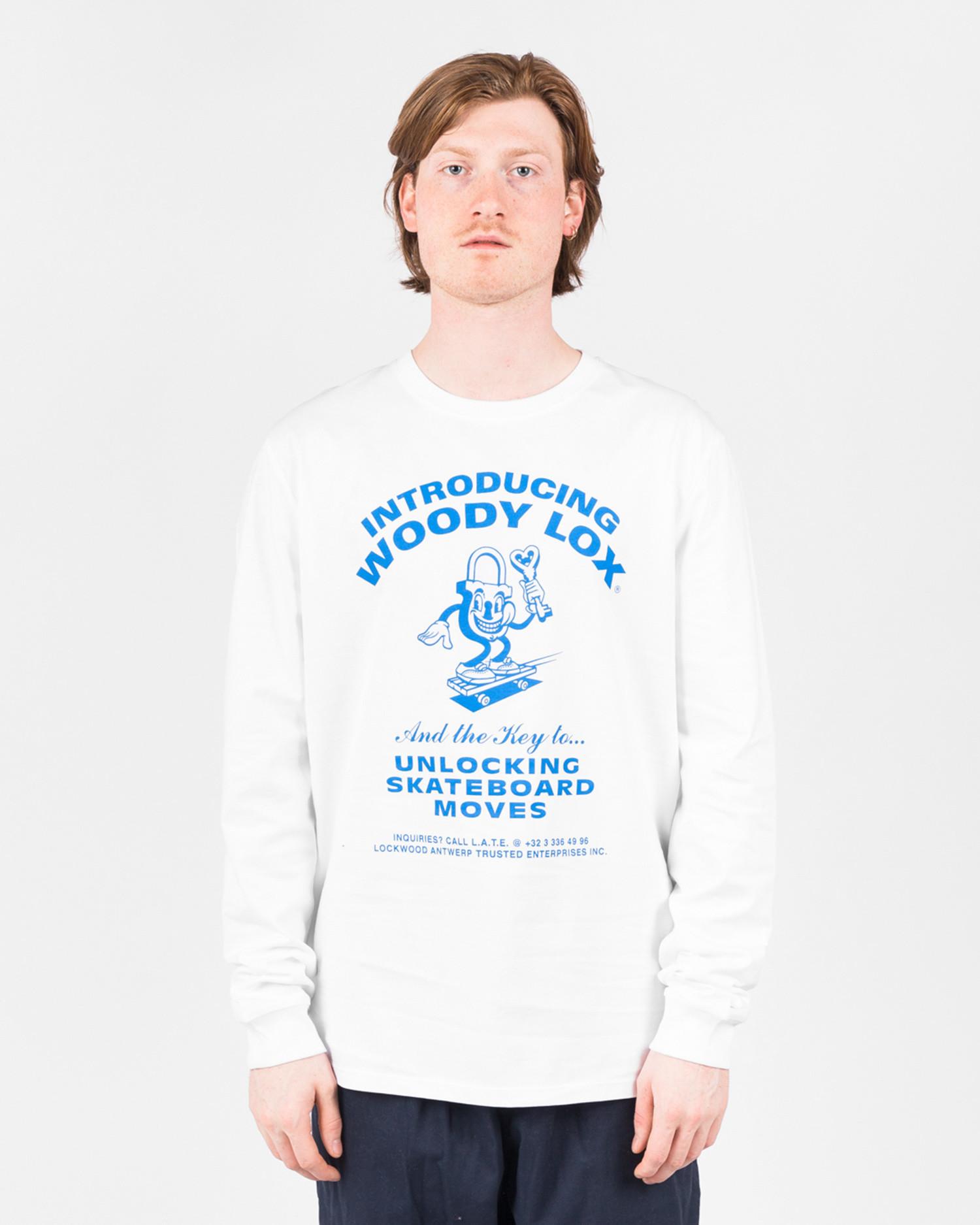 Lockwood Woodylox Longsleeve White