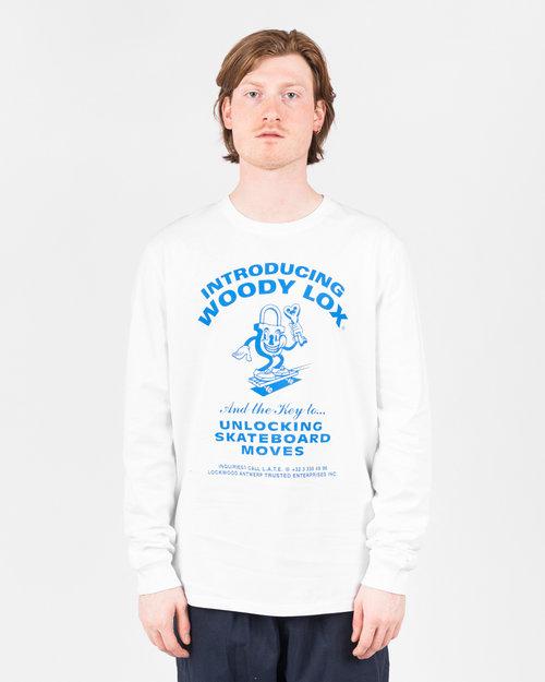 Lockwood Lockwood Woodylox Longsleeve White