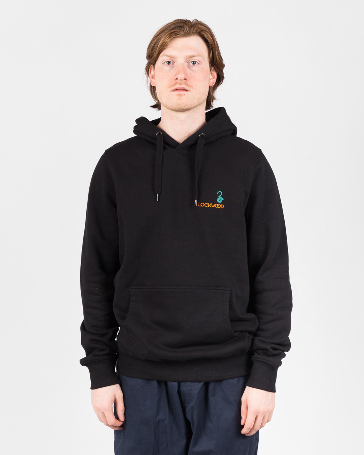 Lockwood Embroidery Hoodie Black