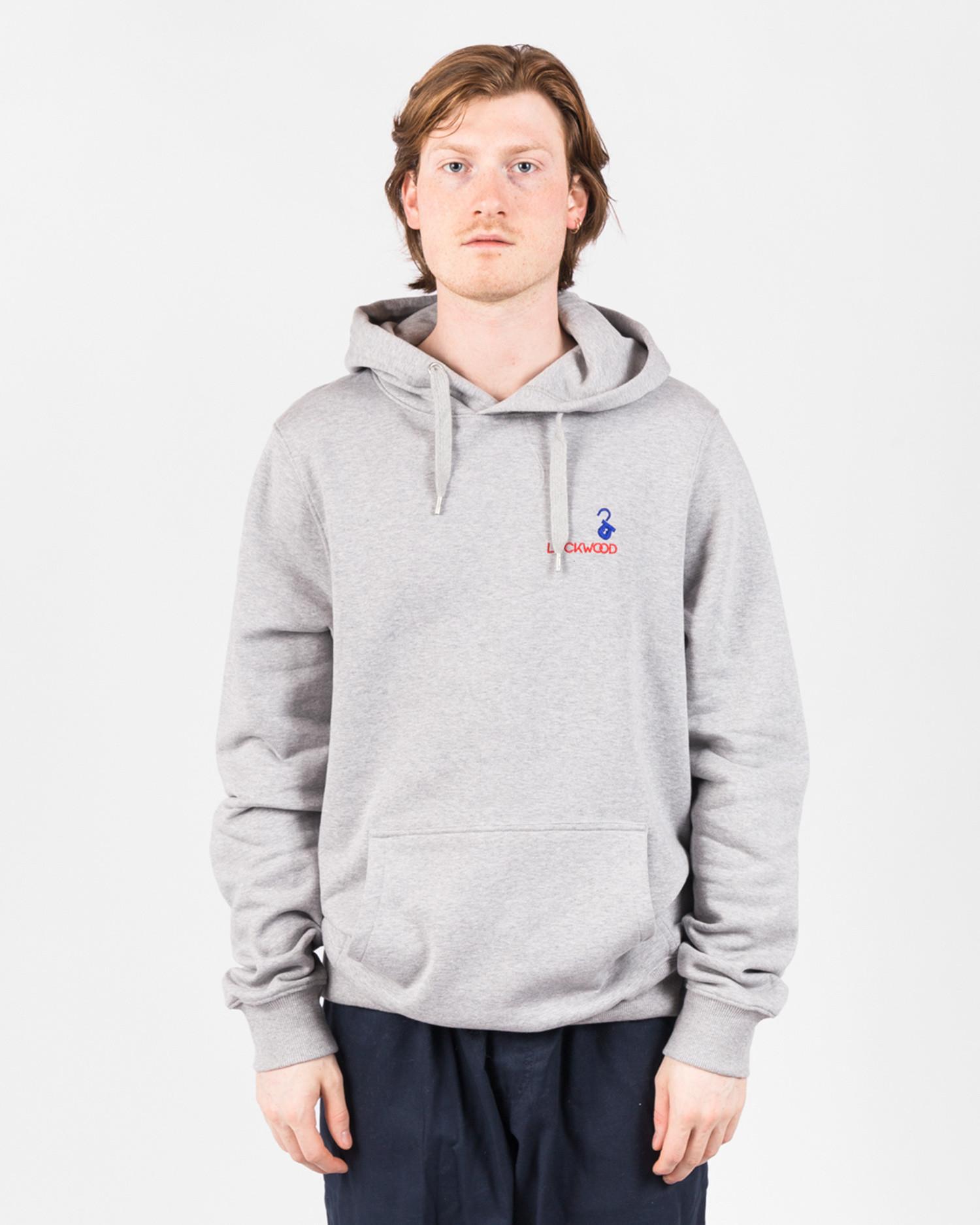 Lockwood Embroidery Hoody Grey