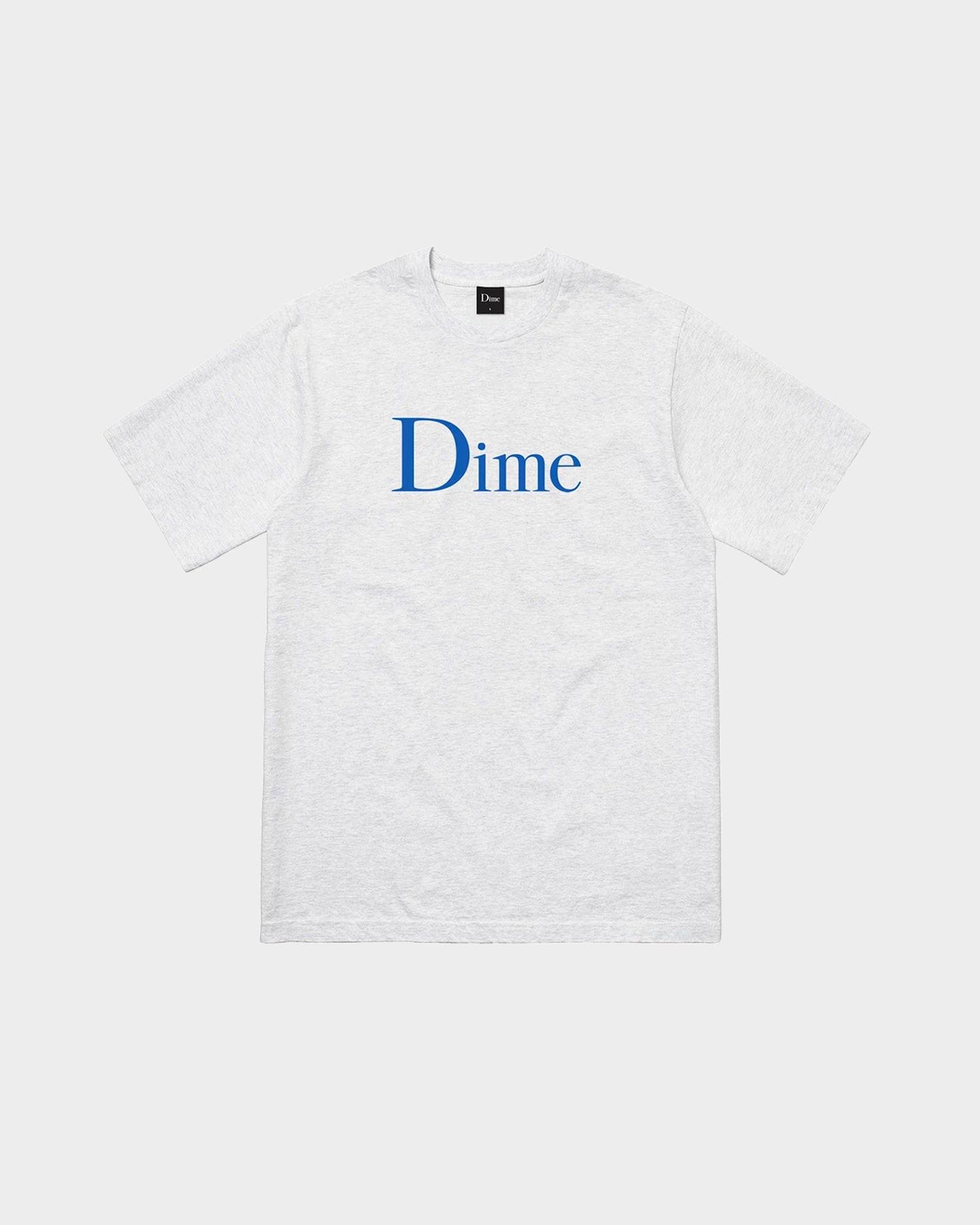 Dime Classic T-Shirt Ash