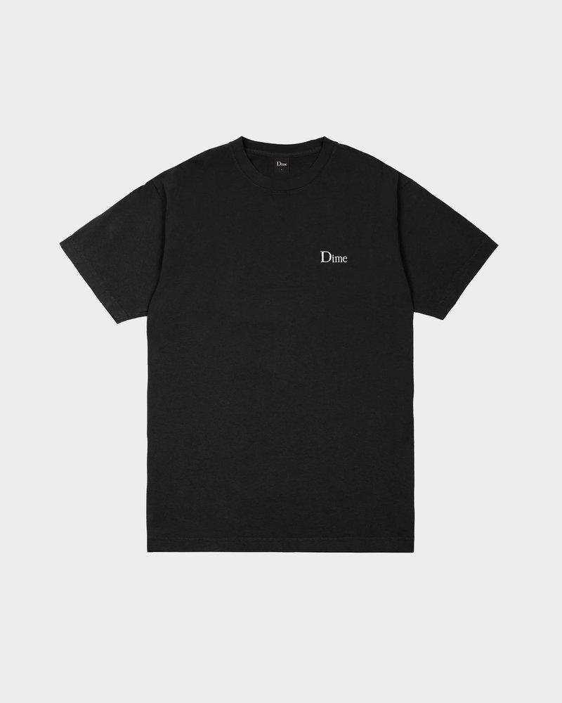 Dime Dime Classic Small Logo T-Shirt Black