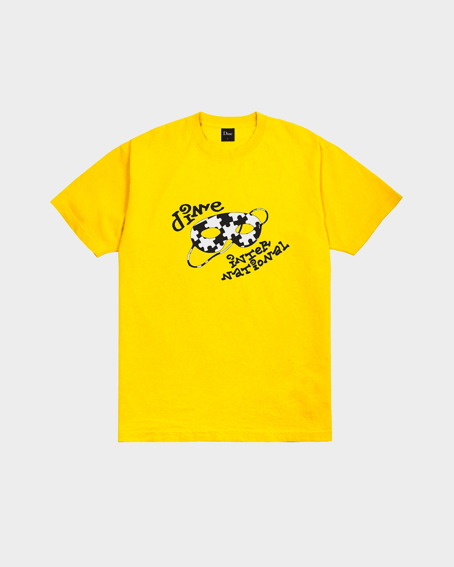 Dime International T-Shirt Yellow