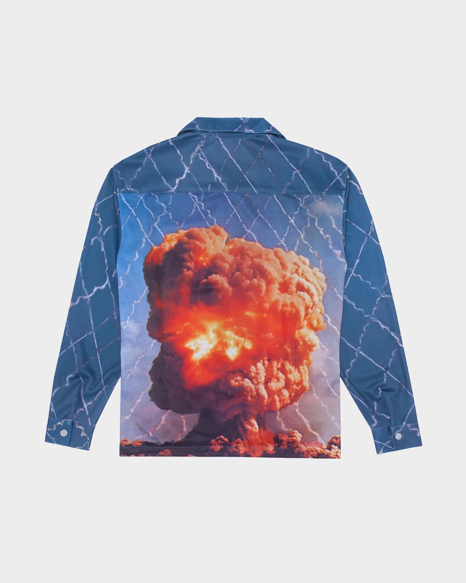Fucking Awesome Long Sleeve Graphic Shirt Bomb
