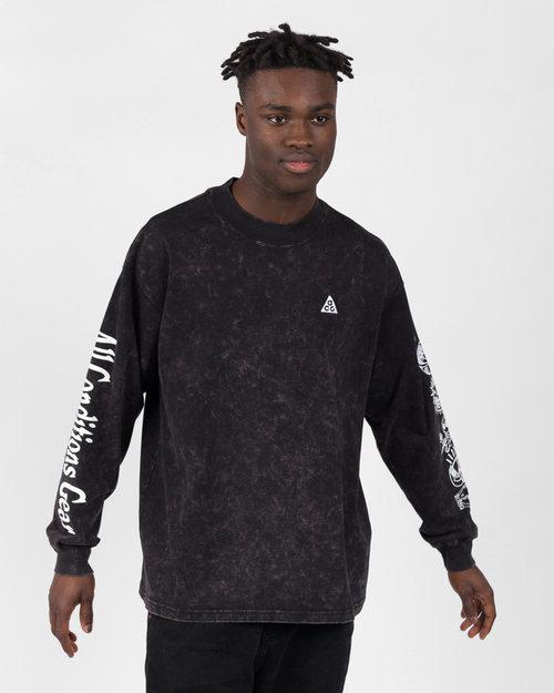 Nike Nike M nrg acg longsleeve tee earth Black/white
