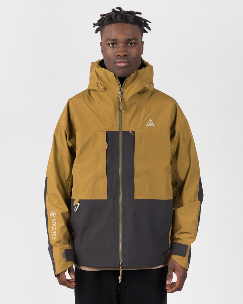 Nike Nike M Nrg Acg Misery Rdge Gore Jacket Golden Beige/Anthracite/Black