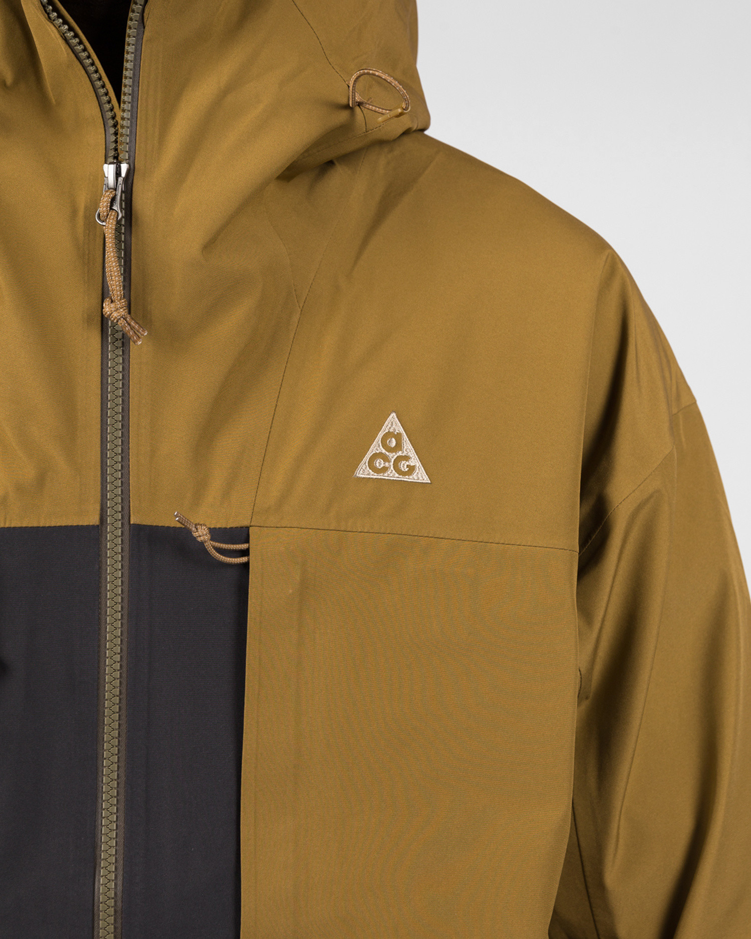 Nike M Nrg Acg Misery Rdge Gore Jacket Golden Beige/Anthracite/Black