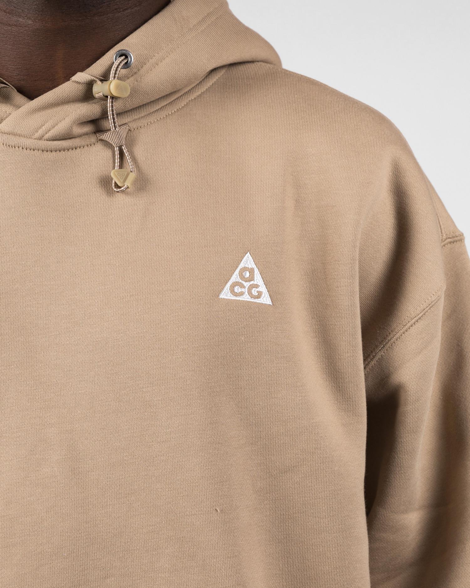 Nike nrg acg hoodie Khaki/summit white