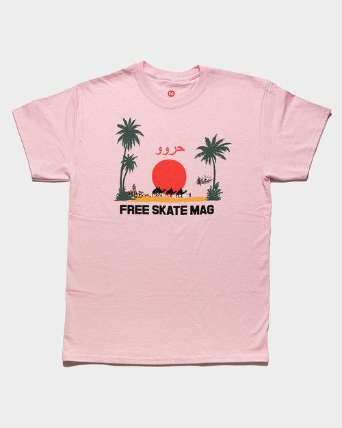 Freeskatemag Free Skate Mag OG Marrakesh T-Shirt Pink